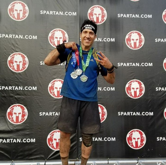 Doctor Oshins at a Spartan racing event